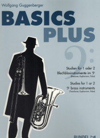 Guggenberger - Basics Plus: Studies for 1 or 2 Bass Clef Brass Instruments