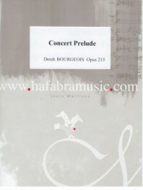 Bourgeois, Derek - Concert Prelude with Wind Band