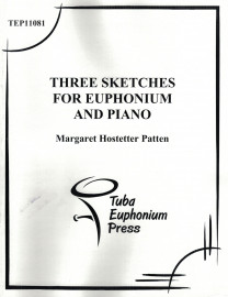 Patten - Three Sketches for Euphonium and Piano