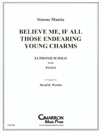Mantia arr. Werden - Believe Me...Endearing Young Charms - SOLO VERSION